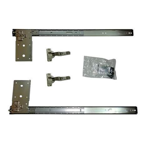 "Knape and Vogt KV 8080 Pocket Door with Hinges 18"" 8080PEZ"