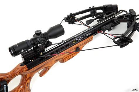 arm brust tenpoint tactical xlt crossbow at arrow in apple