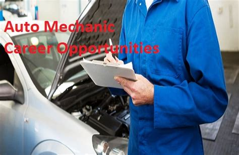 Auto Mechanic Career Information by Review Auto Mechanic Career Opportunities Car Repair