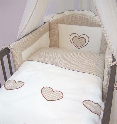 3teilig Baby Bettwäsche Nestchen Set Decke Kissen Bezug