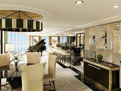 luxury cruise ship suite    size   house