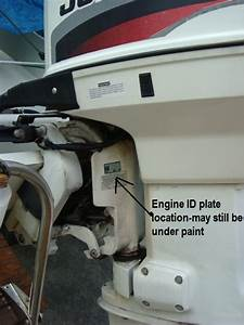 Johnson Outboard Motor Serial Number Year