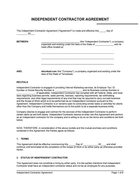 Contract Agreement Form - Fill Online, Printable, Fillable, Blank   pdfFiller