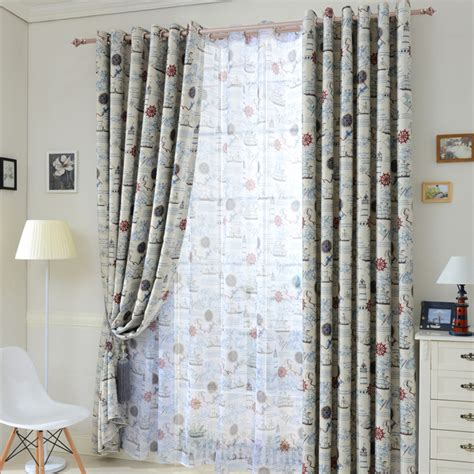 modern blackout curtain tulle sheer curtains window