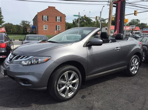 Convertible Nissan Suv by 2014 Nissan Murano Crosscabriolet Base Awd 2dr Suv