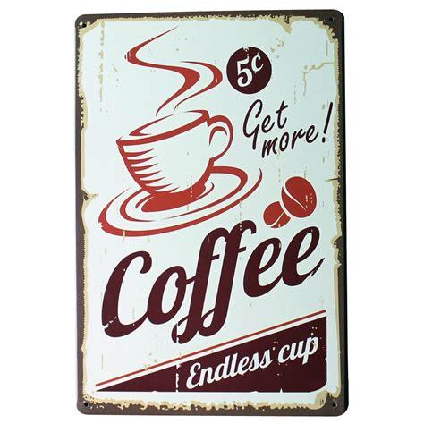 Amsterdam has a thriving coffee bar culture. Get More COFFEE Metal Tin Sign Fashion Retro Decor Plaque ...