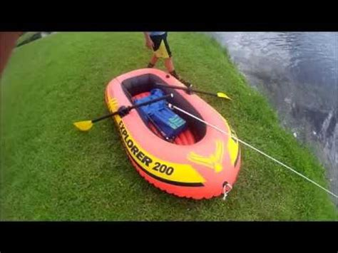 Inflatable Boat Fishing Youtube by Inflatable Boat Fishing Fail Youtube