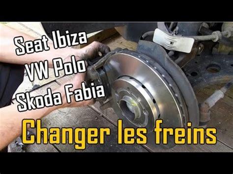 comment changer les plaquettes de frein arriere sur scenic 2 comment changer les freins disques et plaquettes sur seat ibiza 3 vw polo 4 skoda fabia 1