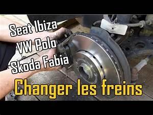 Changer Les Plaquettes : comment changer les freins disques et plaquettes sur seat ibiza 3 vw polo 4 skoda fabia 1 ~ Maxctalentgroup.com Avis de Voitures