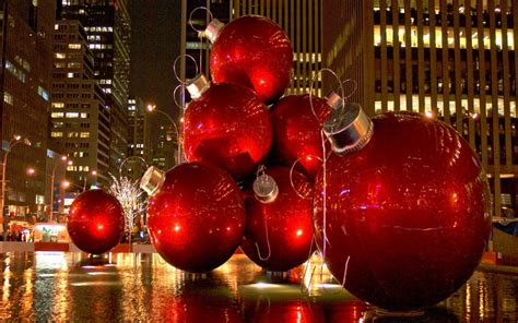 new christmas lights winter in new york city wallpaper wallpaper wide hd