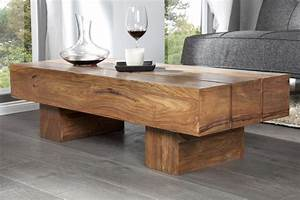 Table Basse En Bois Flotté : table basse bois brut design images ~ Preciouscoupons.com Idées de Décoration