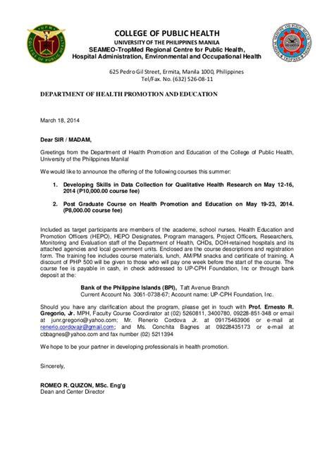 invitation letter     qualitative research