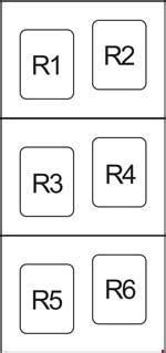 2006 Rav4 Fuse Box by 2006 2012 Toyota Rav4 Xa30 Fuse Box Diagram 187 Fuse Diagram