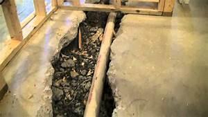 Basement bathroom sewage ejector pump system youtube for Sewer pump for basement bathroom
