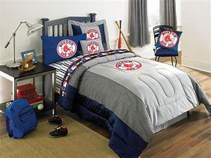 Boston Red Sox Full Size Sheets Set