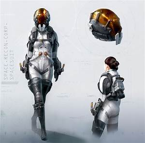 39 Concept Art and Illustrations of Astronauts | Concept ...