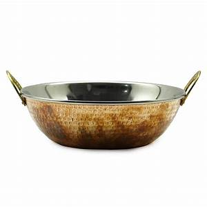Cookware Traditional Indian Kadhai Tableware How To Cares Copper Serveware