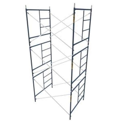 metaltech saferstack 5 ft x 5 ft x 7 ft scaffold