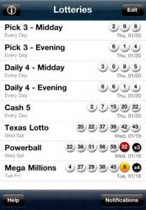 Texas Lottery Results Winning Numbers