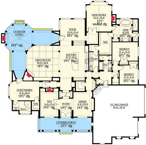 cool floor plans architectural designs