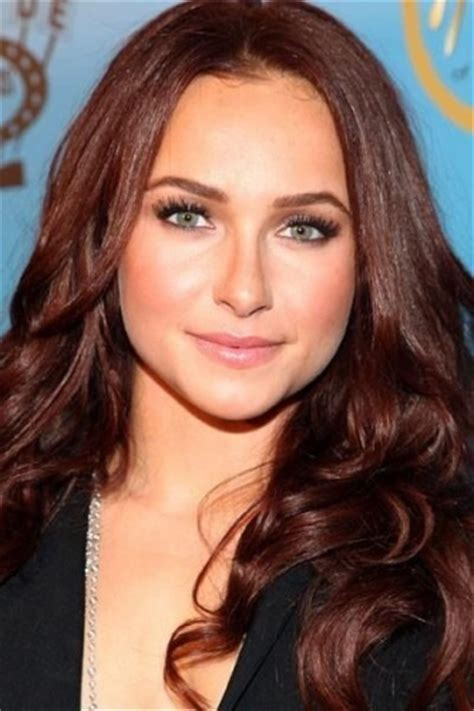 Actresses Hair Color by With Amazing Auburn Hair Color Modern