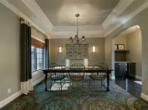 dining room ceiling ideas great tray ceiling vs coffered ceiling decorating ideas images in dining room traditional design