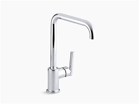 purist single handle kitchen sink faucet k 7507 kohler