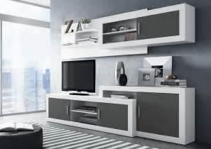 mueble comedor mueble de comedor moderno blanco y grafito