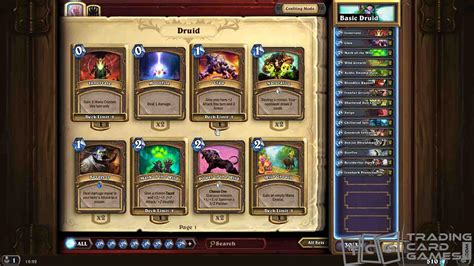 How To Play Druid Class  Hearthstone Strategy Guide