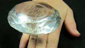 Plastic Fake Diamond Engagement Rings