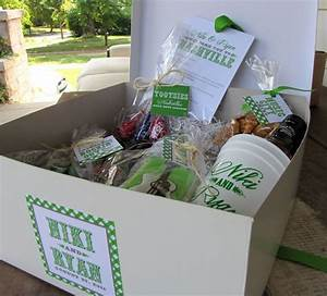 17 best images about guest bag ideas on pinterest hotel With wedding welcome gifts for out of town guests