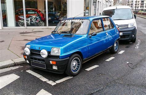 Renault 5 Alpine Turbo, une voiture de collection proposée ...
