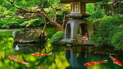 Garden Japanese Japan Background Wallpapers Nature Screensavers
