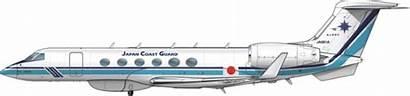 Aircraft Coast Guard Gulfstream Japan Patrol G550