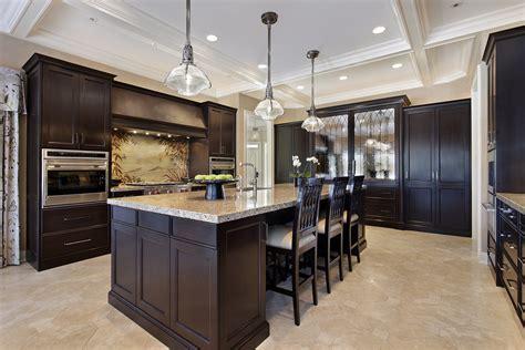 ideas  dark kitchen cabinets  light wood floors