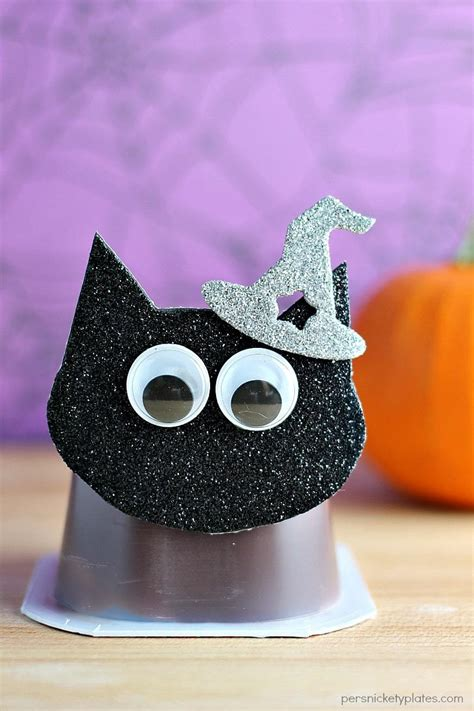 Black Cat Pudding Cups Persnickety Plates