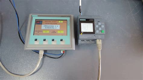 Přepnutí Obrazovek Na Hmi Z Plc Logo!v8 / Change Siemens