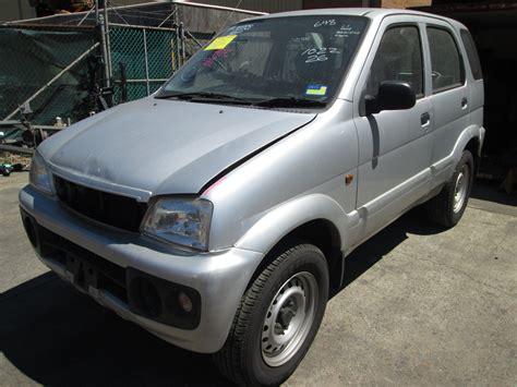 Wrecking Daihatsu Terios Ii 1.3i -m- Silver. Sydney