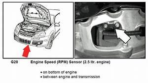 Location Speed Sensor  G28  On A Vw T5 2 5tdi 128kw Six Speed