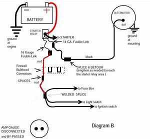 Bypassing The Amp Gauge