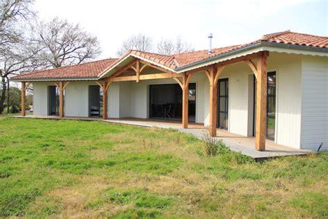maisons individuelle bois dans les landes la maison bois