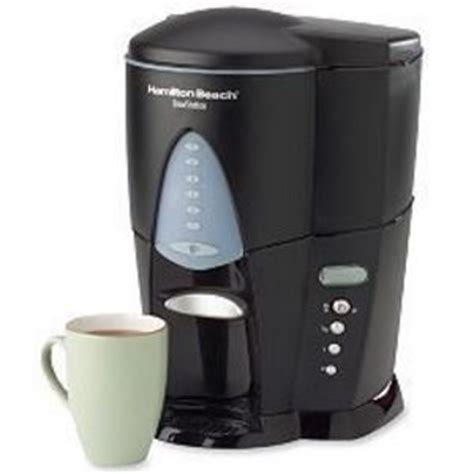 This hamilton beach coffee maker is a great programmable coffee maker. Hamilton Beach BrewStation 12-Cup Coffee Maker 47214 Reviews - Viewpoints.com