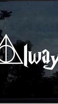 Harry Potter Always Window Decal Sticker