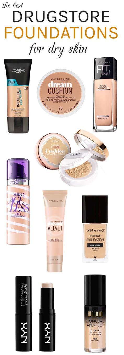 best drugstore light coverage foundation the best drugstore foundations for dry skin beautytidbits