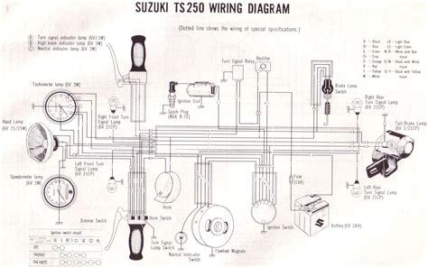 Suzuki Gt500 Wiring Diagram by Original Suzuki Ts Tc Tm Forum Suzuki Ts250 Wiring Diagram