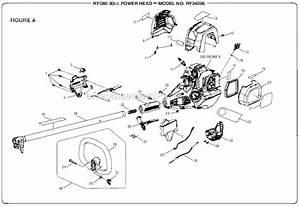 Ryobi Ry34006 Parts List And Diagram   Ereplacementparts Com