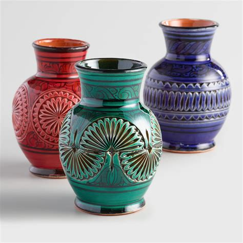 World Market Vases - ceramic moroccan vases world market