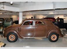 Alberta Gold 1936 Chrysler Airstream 8 Convertible