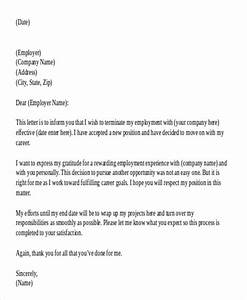42  Resignation Letter Template In Doc