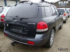 Hyundai Santa Fe 2006 : 2006 hyundai santa fe 2 0 2wd diesel car photo and specs ~ Medecine-chirurgie-esthetiques.com Avis de Voitures